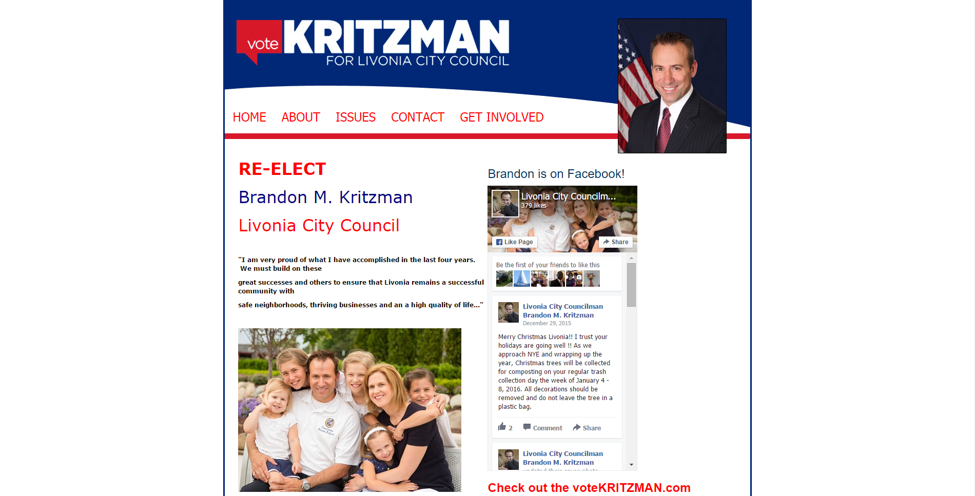 Vote Kritzman Screenshot