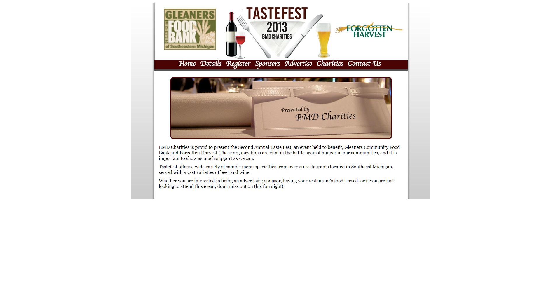 Test Taste Screenshot